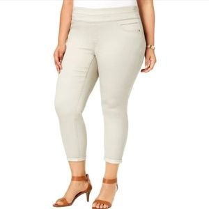 Style & Co. Plus Size Comfort Waist Ankle Pants 18